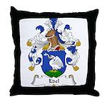 Edel Family Crest Throw Pillow