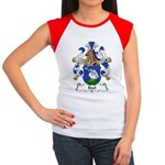 Edel Family Crest Women's Cap Sleeve T-Shirt