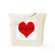 Luv Goalies Tote Bag