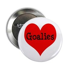 "Luv Goalies 2.25"" Button"