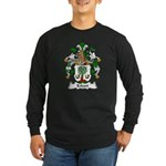 Eckart Family Crest Long Sleeve Dark T-Shirt