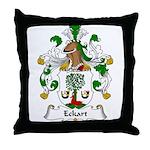 Eckart Family Crest Throw Pillow