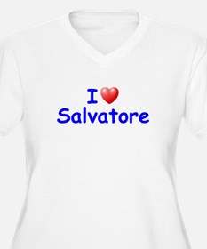 I Love Salvatore (Blue) T-Shirt