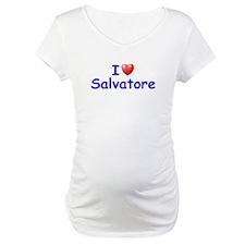 I Love Salvatore (Blue) Shirt