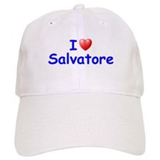 I Love Salvatore (Blue) Baseball Cap