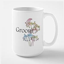 Fireworks Groom Mug