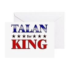 TALAN for king Greeting Card