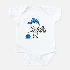 Boy & Swimming Infant Bodysuit