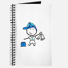 Boy & Swimming Journal