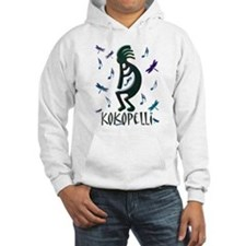 Kokopelli with Musical Notes Hoodie
