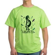Kokopelli with Musical Notes T-Shirt