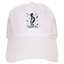 Kokopelli with Musical Notes Baseball Cap