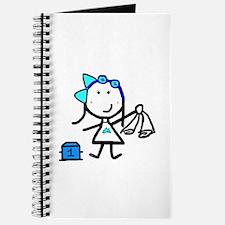 Girl & Swimming Journal