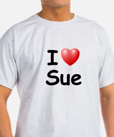 I Love Sue (Black) T-Shirt