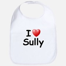 I Love Sully (Black) Bib