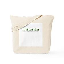 Cute Historian Tote Bag