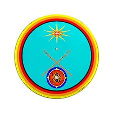 "Cute Cherokee 3.5"" Button (100 pack)"