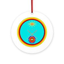 Cute Native pride Ornament (Round)