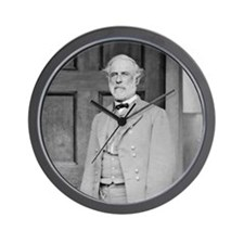 Gen Robert E Lee Wall Clock