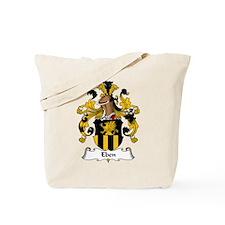 Eben Family Crest Tote Bag