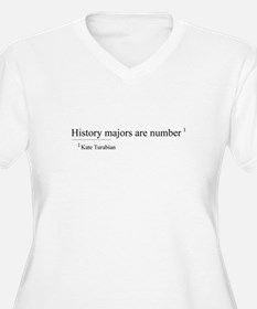 History Majors are number one Plus Size T-Shirt