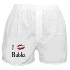 I Kissed Bubba Boxer Shorts