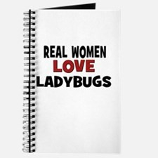 Real Women Love Ladybugs Journal