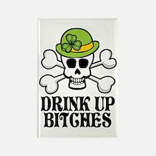 Drink Up Bitches V Rectangle Magnet