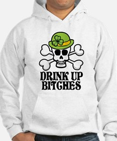 Drink Up Bitches V Hoodie