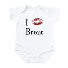 I Kissed Brent Infant Bodysuit