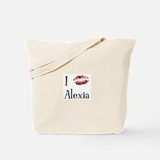 I Kissed Alexia Tote Bag