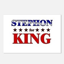 STEPHON for king Postcards (Package of 8)