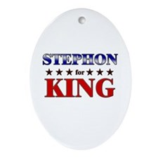 STEPHON for king Oval Ornament