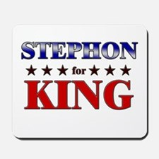 STEPHON for king Mousepad