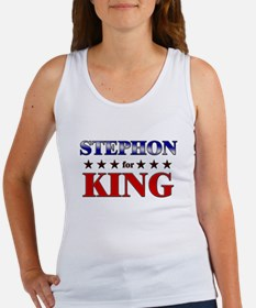 STEPHON for king Women's Tank Top