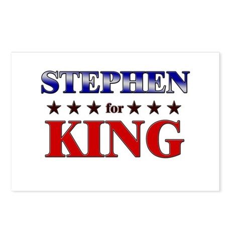STEPHEN for king Postcards (Package of 8)