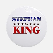 STEPHAN for king Ornament (Round)