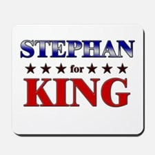 STEPHAN for king Mousepad