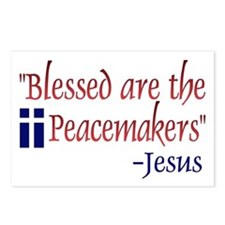 """Postcards (Package of 8) - """"Blessed Are the Peace"""