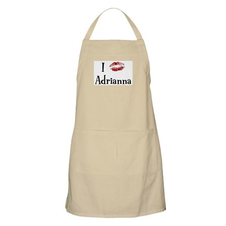 I Kissed Adrianna BBQ Apron