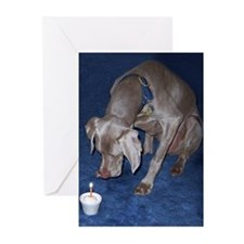 Blue Birthday Cards (Pk of 10)