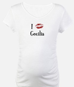 I Kissed Cecilia Shirt