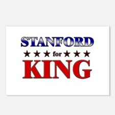 STANFORD for king Postcards (Package of 8)