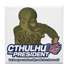 Cool Lovecraft Tile Coaster