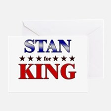 STAN for king Greeting Card