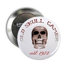 """Old Skull Gamer 2.25"""" Button (10 pack)"""