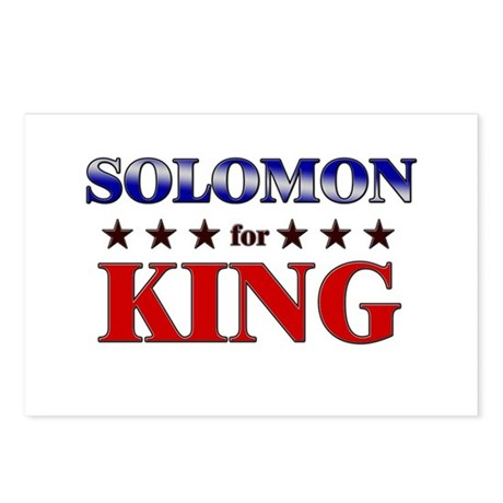 SOLOMON for king Postcards (Package of 8)