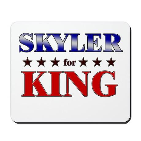 SKYLER for king Mousepad