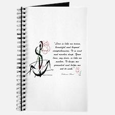 Love is an Anchor Journal
