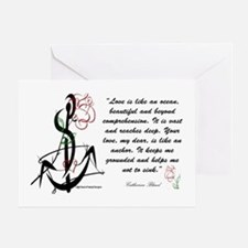 Love is an Anchor Greeting Card
